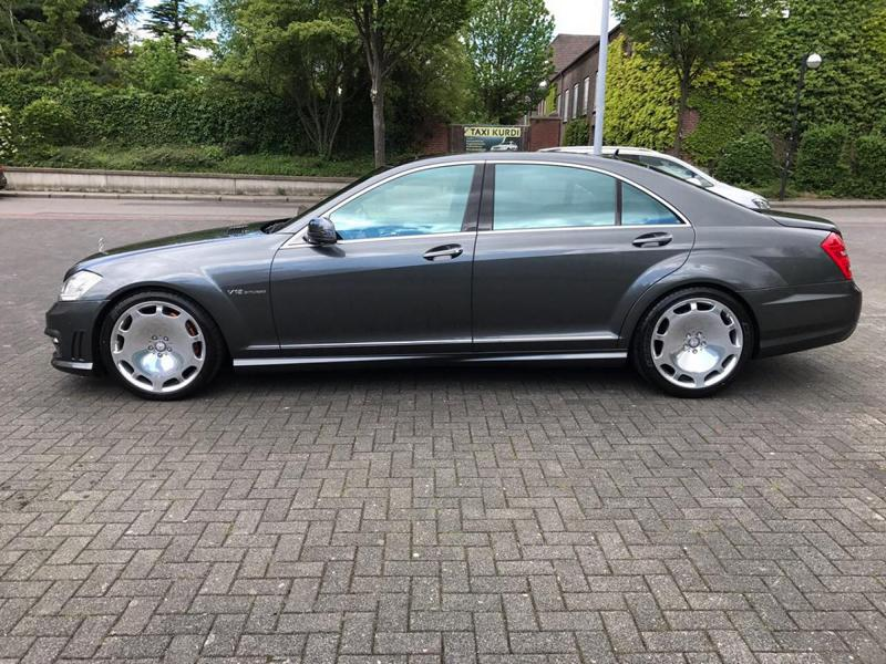 Mercedes S65 AMG W221 Tuning Maybach 1 Perfekt   Mercedes S65 AMG mit +700 PS by TIP Exclusive