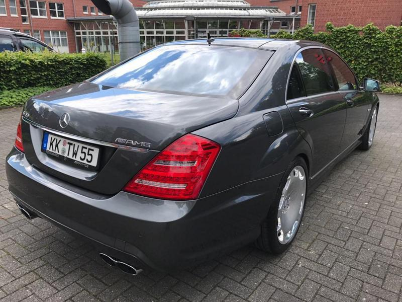 Mercedes S65 AMG W221 Tuning Maybach 5 Perfekt   Mercedes S65 AMG mit +700 PS by TIP Exclusive