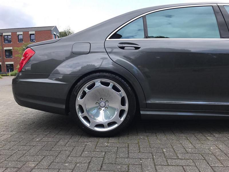 Mercedes S65 AMG W221 Tuning Maybach 6 Perfekt   Mercedes S65 AMG mit +700 PS by TIP Exclusive