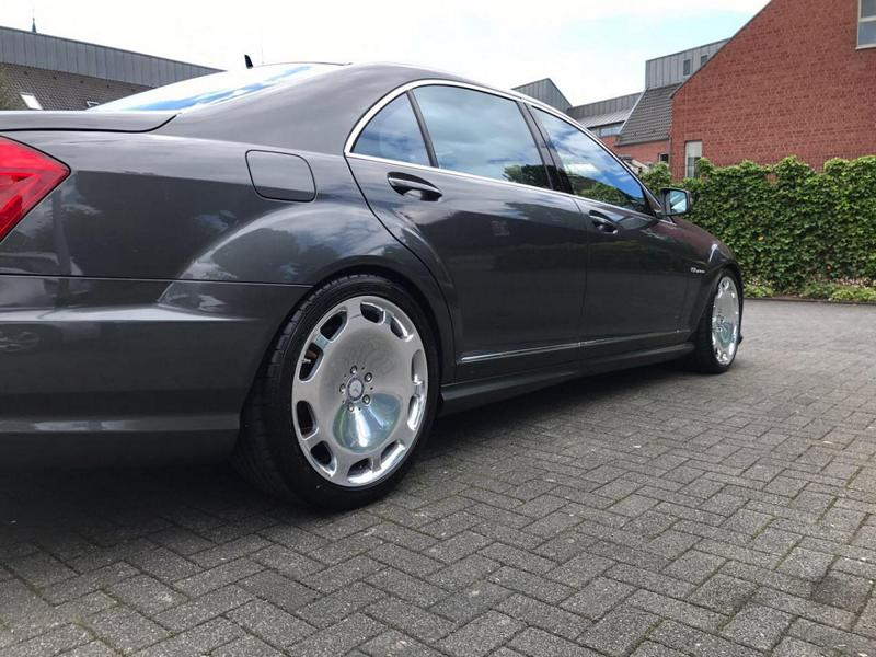 Mercedes S65 AMG W221 Tuning Maybach 7 Perfekt   Mercedes S65 AMG mit +700 PS by TIP Exclusive