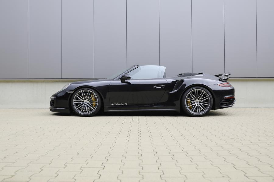 Porsche 911 991 Turbo S HR Sportfedern Tuning 2 Optimierung in Perfektion   Porsche 911 Turbo S mit H&R Parts