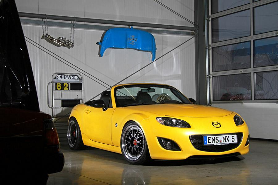 Sps Motorsport Gmbh Mazda Mx 5 With 312ps Amp 354nm