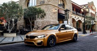 Sunburst Yellow HRE FF04 Tuning BMW M3 F80 4 310x165 Perfekt   Sunburst Yellow & HRE FF04 Alu's am BMW M3