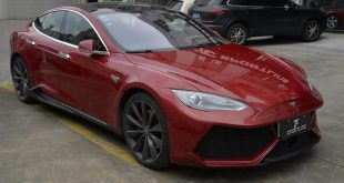 Tesla Model S Lamborghini Bodykit Tuning 2 310x165 Zero to 60 Designs   Projekt Tesla Model S zur SEMA 2017