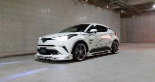 Toyota C HR RR Rowen International Bodykit Tuning 2017 4 310x165 Fertig   Toyota C HR RR mit Rowen International Bodykit