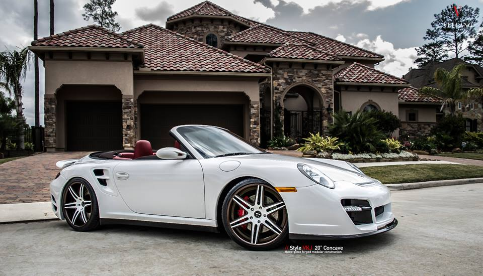 Vellano Forged Wheels VKJ Porsche 911 Turbo 1002 Tuning Vellano Forged Wheels VKJ am Porsche 911 Turbo (997)