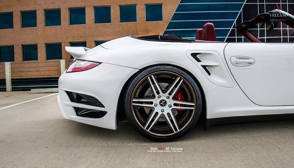 Vellano Forged Wheels VKJ Porsche 911 Turbo 1003 Tuning Vellano Forged Wheels VKJ am Porsche 911 Turbo (997)