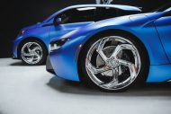 West Coast Customs BMW i8 i3 Satin Flip Glacial Frost Tuning 1 190x127 West Coast Customs BMW i8 & i3 in Satin Flip Glacial Frost