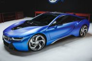 West Coast Customs BMW i8 i3 Satin Flip Glacial Frost Tuning 2 190x127 West Coast Customs BMW i8 & i3 in Satin Flip Glacial Frost