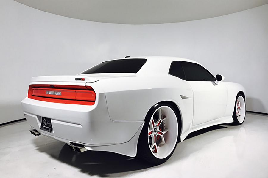 Widebody Dodge Challenger Forgiato GTR Stormtrooper 3 Fett   Widebody Dodge Challenger auf Forgiato GTR Alu's
