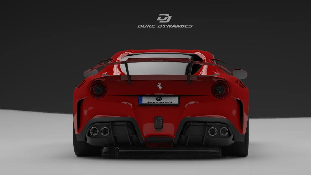 Widebody Ferrari F12 berlinetta Rendering Duke Dynamics 7 Duke Dynamics   Widebody Ferrari F12 berlinetta Rendering