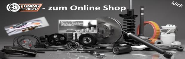 tuningblog online shop Banner Ford Mustang GT mit 20 Zoll Cor.Speed Sports Felgen