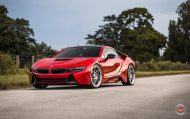 20 Zoll Vossen Forged LC 109T Felgen BMW i8 Tuning 11 190x119 Perfekt   20 Zoll Vossen Forged LC 109T Felgen am BMW i8