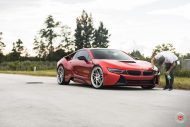 20 Zoll Vossen Forged LC 109T Felgen BMW i8 Tuning 15 190x127 Perfekt   20 Zoll Vossen Forged LC 109T Felgen am BMW i8