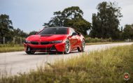 20 Zoll Vossen Forged LC 109T Felgen BMW i8 Tuning 4 190x119 Perfekt   20 Zoll Vossen Forged LC 109T Felgen am BMW i8