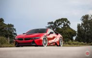 20 Zoll Vossen Forged LC 109T Felgen BMW i8 Tuning 6 190x119 Perfekt   20 Zoll Vossen Forged LC 109T Felgen am BMW i8