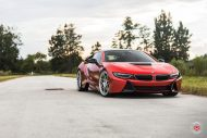 20 Zoll Vossen Forged LC 109T Felgen BMW i8 Tuning 8 190x127 Perfekt   20 Zoll Vossen Forged LC 109T Felgen am BMW i8