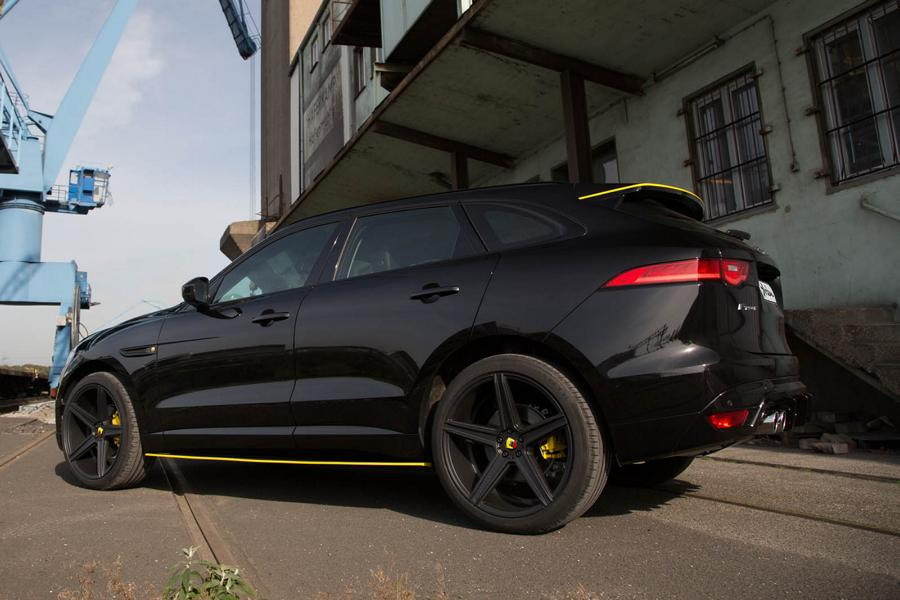 ARDEN Jaguar AJ 25 F Pace Tuning 8 Edel & schnell: ARDEN Jaguar AJ 25 F Pace mit 380 PS
