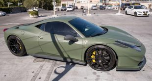 Army Green ZF03 Zito Wheels Ferrari 458 Italia Tuning 4 310x165 Army Green und ZF03 Zito Wheels am Ferrari 458 Italia