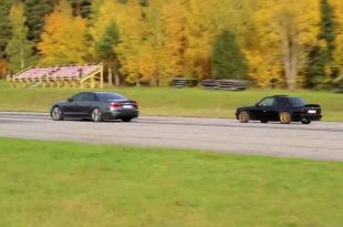BMW E30 325i Drag Race vs. Audi S8 Plus 310x205 Video: 700 PS BMW E30 325i Drag Race vs. Audi S8 Plus