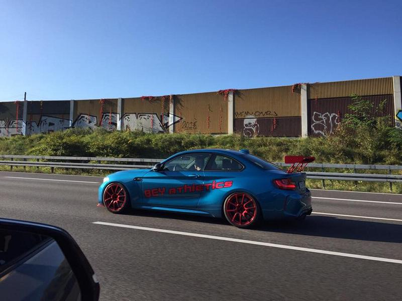 BMW M2 F87 Tuning Versus Performance 8 430PS & Racingtrimm   BMW M2 F87 von Versus Performance
