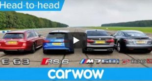 BMW M760Li vs Tesla Model S vs Audi RS 6 vs Mercedes AMG Estate 310x165 Video: BMW M760Li / Tesla Model S / Audi RS 6 / Mercedes E63 AMG