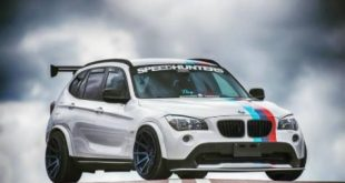 BMW X1 E84 Widebody JR11 Tuning 310x165 Black Beast: Nissan GT R (R35) Widebody auf 21×13,5 Zöllern