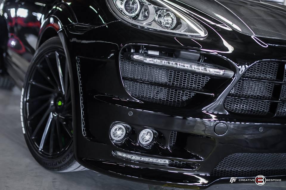 Bodykit Vossen Wheels Porsche Cayenne Hybrid Tuning 9 Fotostory: Bodykit & Vossen Wheels am Porsche Cayenne