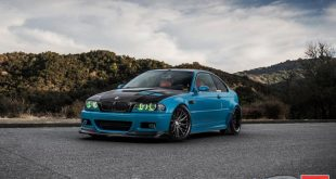 Carbon BMW E46 M3 Vossen VWS 2 Tuning 3 310x165 Heftig   Widebody BMW E46 M3 auf CCW Wheels in Phoenixgelb