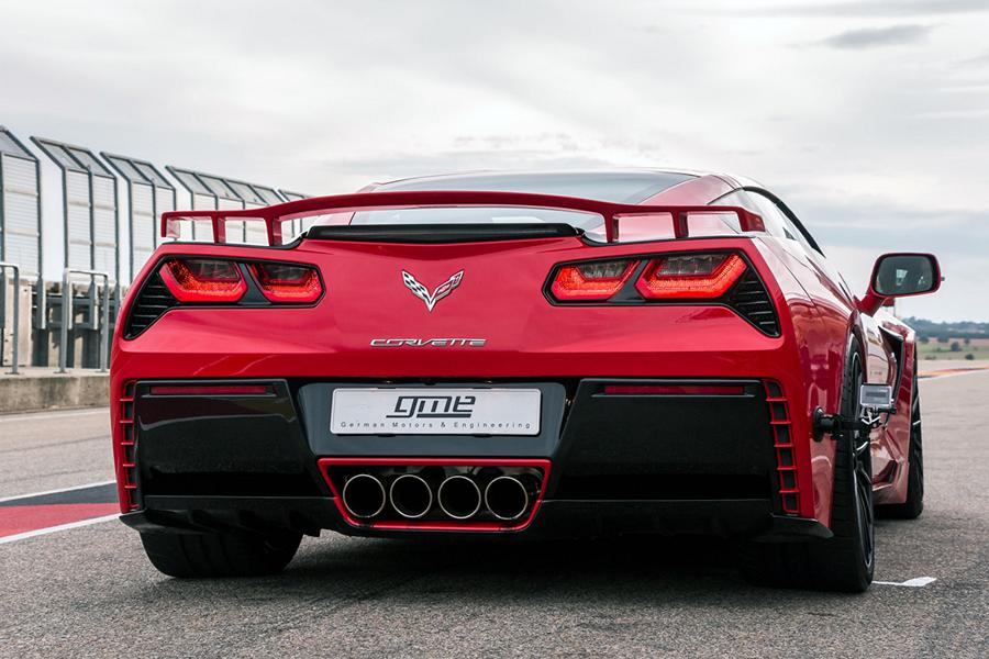 Chevrolet Corvette C7670 Tuning GME 5 700 Kompressor PS in der GME Chevrolet Corvette C7