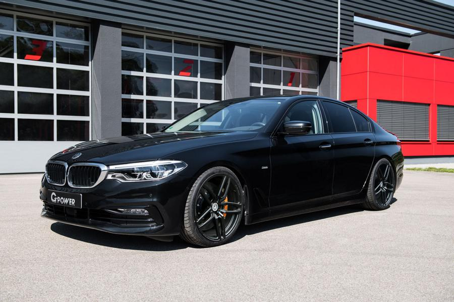 G Power BMW G30 G31 Chiptuning Felgen 4 Auf 750d Spuren   G Power BMW G30/G31 mit 460 PS