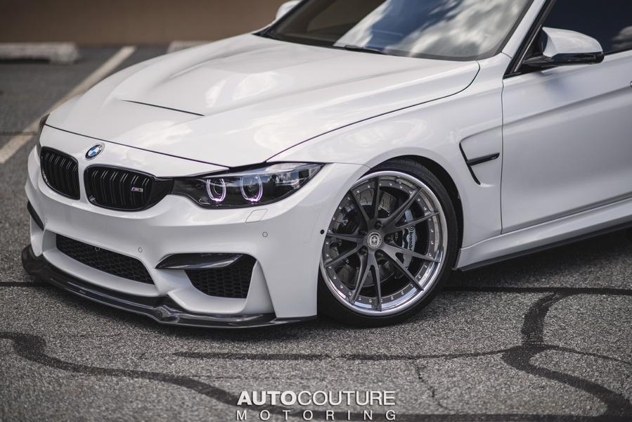 GTS HRE S104 Tuning BMW M3 F80 mineralweiß 7 Edel & schnell   AUTOCouture Motoring BMW M3 F80 Limo