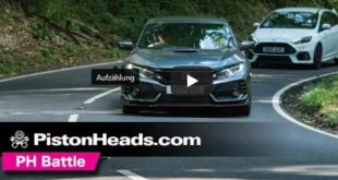 Honda Civic Type R Moutune Ford Focus RS MR375 310x165 Video: Honda Civic Type R vs. Moutune Ford Focus RS MR375