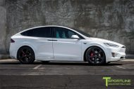Pearl White Tesla Model X MX5 Tuning 1 190x127 Pearl White lackiertes Tesla Model X auf 22 Zoll MX5 Felgen
