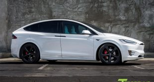 Pearl White Tesla Model X MX5 Tuning 1 310x165 Project Battleship   T Sportline Tesla Model S in Mattgrau