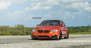 R10 Deep Concave Monoblock BMW M3 Sakhir orange Tuning 8 310x165 Strasse Wheels SM5R Felgen am Porsche 911 Turbo (991)