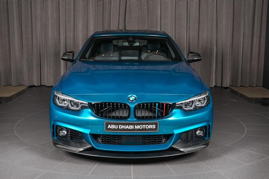 Snapper Rocks Blue BMW 440i Gran Coupe M Parts Tuning 2 Snapper Rocks Blue BMW 440i Gran Coupe mit M Parts