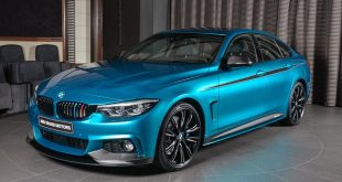 Snapper Rocks Blue BMW 440i Gran Coupe M Parts Tuning 4 310x165 Snapper Rocks Blue BMW 440i Gran Coupe mit M Parts