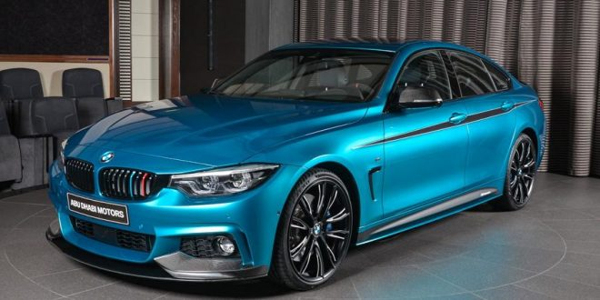 Snapper Rocks Blue BMW 440i Gran Coupe mit M-Parts