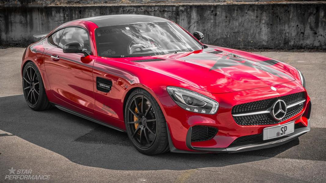 Star Performance Mercedes Benz AMG GTs Tuning 5 Star Performance Mercedes Benz AMG GTs auf 21 Zöllern