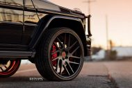 Strasse SM7T Felgen Mercedes G65 AMG Tuning 10 190x127 24 Zoll Strasse SM7T Felgen am Brabus Mercedes G65 AMG