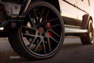 Strasse SM7T Felgen Mercedes G65 AMG Tuning 12 190x127 24 Zoll Strasse SM7T Felgen am Brabus Mercedes G65 AMG