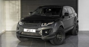 Tuning Range Rover Evoque X Lander Edition 2017 Kahn Design 6 310x165 Mega   Kahn 6x6 Civilian Carrier Defender Umbau in Genf