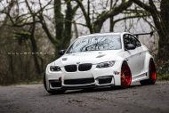 Widebody BMW E92 M3 OEM Style Nissan GT R Tuning 14 190x127 Widebody BMW E92 M3 trifft auf OEM Style Nissan GT R