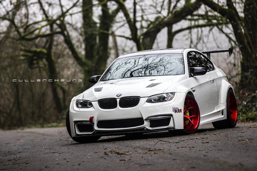 Widebody BMW E92 M3 OEM Style Nissan GT R Tuning 14 Widebody BMW E92 M3 trifft auf OEM Style Nissan GT R