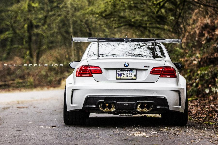 Widebody BMW E92 M3 OEM Style Nissan GT R Tuning 9 Widebody BMW E92 M3 trifft auf OEM Style Nissan GT R