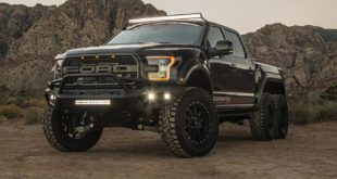 "2017 Ford Velociraptor 6x6 Tuning Hennessey Performance 3 310x165 Mega Monster   Ford F 350 ""The Operator"" By Hellwig"