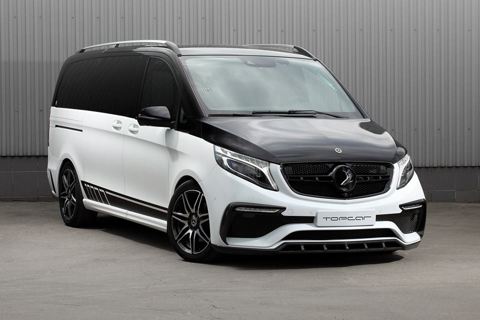 2018 topcar inferno bodykit mercedes v klasse w447 tuning. Black Bedroom Furniture Sets. Home Design Ideas