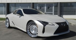 24 Zoll Forgiato Tec 3.3 Wheels Lexus LC500 Tuning 2 310x165 24 Zoll Forgiato Tec 3.3 Wheels am seltenen Lexus LC500