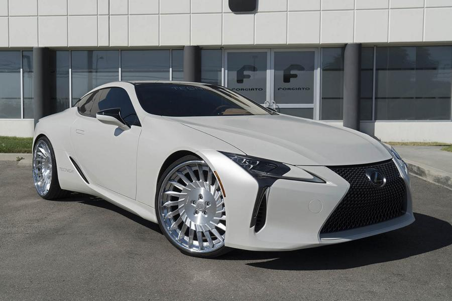 24 Zoll Forgiato Tec 3.3 Wheels Lexus LC500 Tuning 2 24 Zoll Forgiato Tec 3.3 Wheels am seltenen Lexus LC500